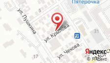 Отель Людмила на карте