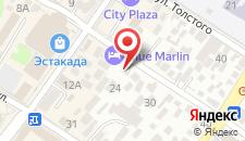 Гостевой дом Евгения на карте