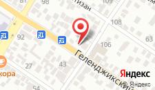 Апартаменты Лакония на карте