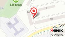 Апартаменты Дугина на карте