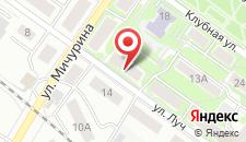 Апартаменты Луч на карте