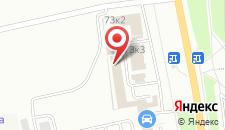 Мотель Автотерра на карте
