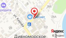 Отель Афина на карте