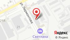 Отель Светлана на карте