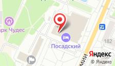 Хостел Посадский на карте