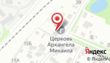 Гостиница Православная на карте