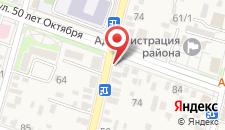 Гостевой дом на 50 лет Октября на карте
