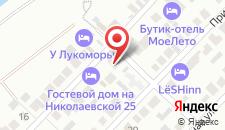 Отель У Лукоморья на карте