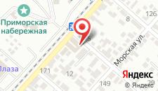 Гостиница Елена на карте