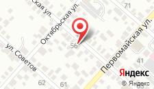 Мини-гостиница Бердянская 56 на карте
