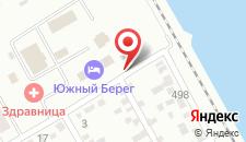 Гостинично-оздоровительный комплекс Отдых на карте