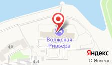 Гостиница Волжская Ривьера на карте