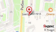 Гостиничный комплекс Чайка на карте