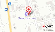 Отель Электросталь на карте