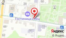 Отель Елец на карте