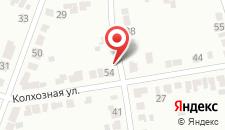 Гостиница Елец на карте