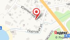 Гостиница Солнечный на карте