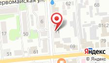 Хостел Комнаты в квартире в Александрове на карте