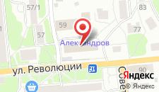 Гостиница Александров на карте