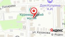 Апартаменты На Лажечникова на карте