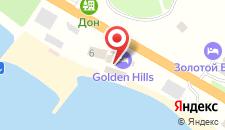 Гостиница Golden Hills на карте