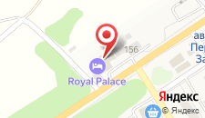 Отель Royal Palace на карте