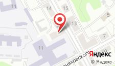 Хостел Славянский на карте