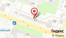 Апартаменты На Плеханова 32 на карте