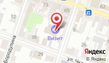 Мини-отель Визит на карте