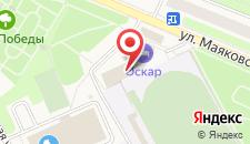 Отель Оскар на карте