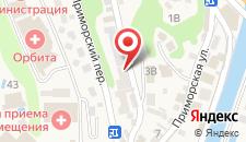 Отель Борсаак на карте