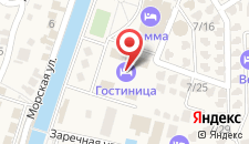 Отель Ателика Гранд Гамма на карте