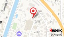 Отель Гамма на карте