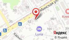 Бутик-Отель #LUNA Hotel Krasnodar на карте