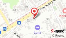 Бутик-Отель #LUNA Hotel на карте