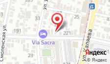 Гостиница Via sacra на карте