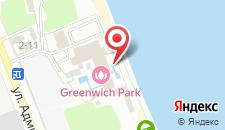 Гостиница Гринвич Парк на карте