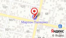 Гостиница Marton Severnaya на карте