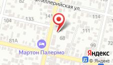 Отель Chocolatier на карте
