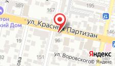 Гостиница Aquila на карте