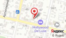 Гостиница Troy West на карте