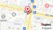 Гостиница Marton Turgeneva на карте