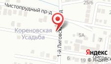 Гостиница ПридворовЪ на карте