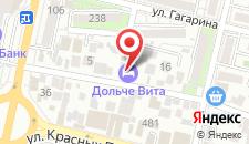 Отель Дольче Вита на карте