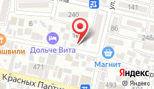 Хостелы Рус - Краснодар на карте