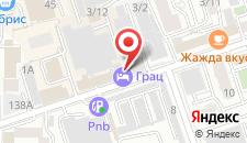 Отель Грац на карте