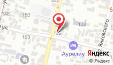 Гостевой дом Ардо на карте