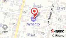 Гостиница Аурелиу на карте