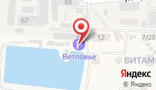 Загородный отель Екатерининская усадьба на карте