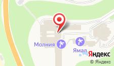 Отель Молния на карте
